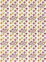 Лист с бирками от Decards — Ручная работа сердечки, размер 1 штуки  40x55 мм, 25 бирок