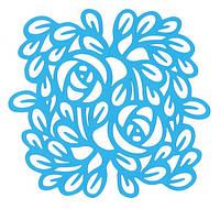 Маска Фабрика декора — Орнамент Розы, 15x15 см, 1 шт