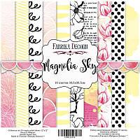 """Набор бумаги для декорирования Фабрика  декора - """"Magnolia Sky"""", 30x30 см, 10 листов"""