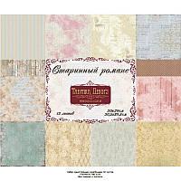 Набор бумаги от Фабрики Декора - Старинный романс, 30,5x30,5 см, 12 листов