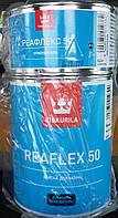 Краска Reaflex Tikkurila для реставрации ванн белая Реафлекс, 0.8л+0.2л отвердитель