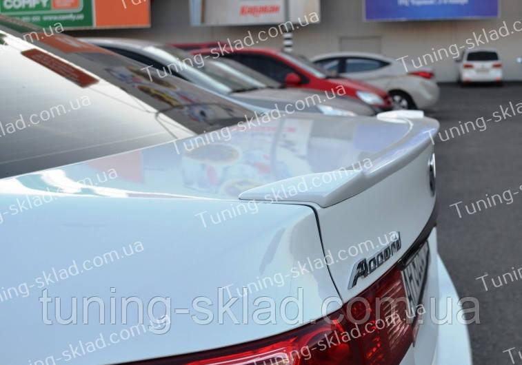 Спойлер Honda Accord 8 (спойлер на крышку багажника Хонда Аккорд 8)