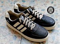 Стильні чоловічі кросівки Adidas Blazer Чорні