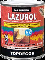 Лазурь тонкослойная со смесью масел и восков LAZUROL TOPDECOR S1035