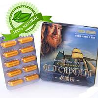 Old Capitan «Старый капитан» (Натуральный без химии!) средство, улучшающее эрекцию 10 таб. 5800 мг