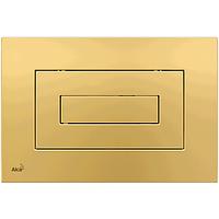 Кнопка управления AlcaPlast золотая M475
