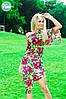 Женское летнее платье №119-037