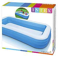 Детский надувной прямоугольный бассейн Intex 58484