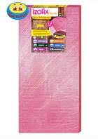 Подложка izofix 1,8 мм розовая теплый пол (1,05м*0,5*=0,525м*шт.) в уп.16шт*0,525=8,4м*уп.)