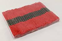 Мулине для вышивания 50 шт., красного цвета, нитки для вышивания