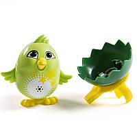 Игрушка интерактивная поющая птичка  со свистком DigiChicks Single Pack, Cosmo, фото 1