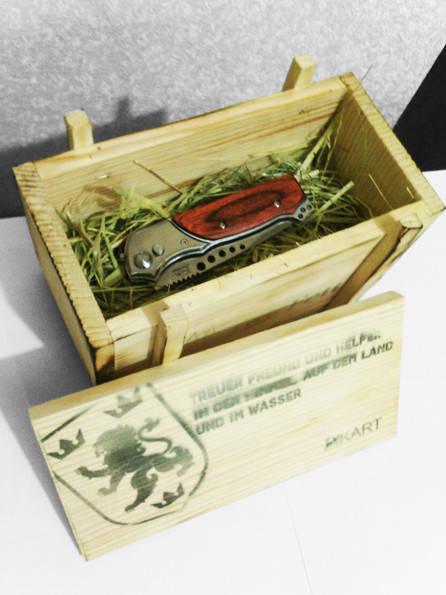 VIP подарочная упаковка! Материалы: дерево, соломасублимационная печать, состаривание древесины