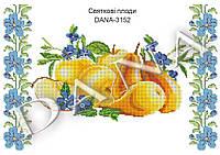 """Схема для вышивания бисером рушника """"Праздничные плоды"""" 3152"""