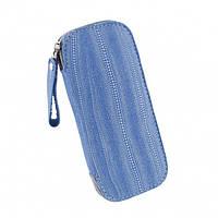 Чехол кисет Гранд 062 размеры 170*90 мм голубой