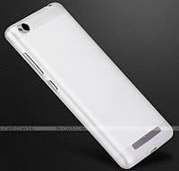 TPU чехол Fulltao для Xiaomi Redmi 3 Matte White + пленка
