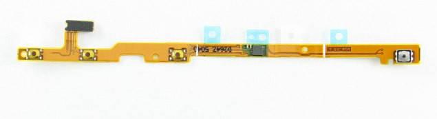 Шлейф для Nokia 720 Lumia с кнопкой включения, кнопками громкости, фото 2