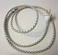 Шнур 2м для утюга (2х1.0) с латунной вилкой