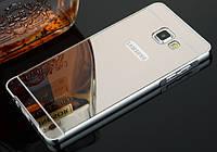 Чехол бампер для Samsung Galaxy A5 A510 2016 зеркальный Брак