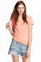 Ярко-оранжевая футболка H&M