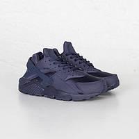 Мужские кроссовки Nike Air Huarache Black/Blue(40-45 Размер)