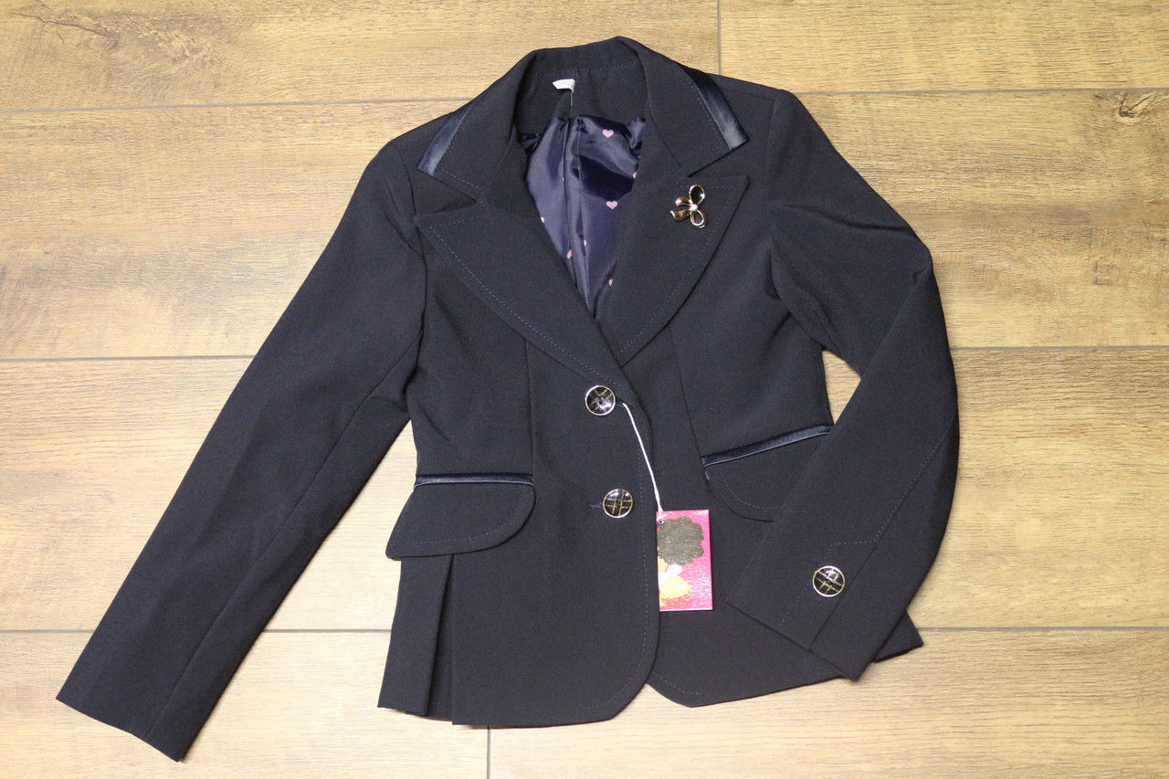 Школьный пиджак Вива Размер 122 - 146 см Разные цвета