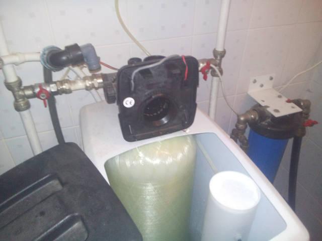 Подготовка в химической очистке управляющего клапана Clack
