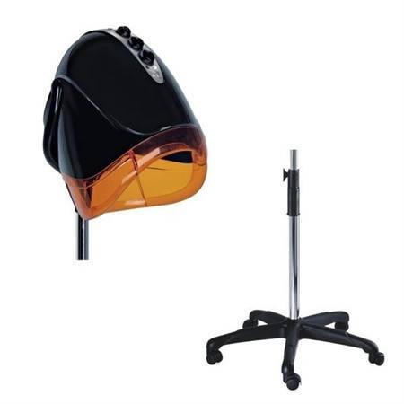 Сушуар Egg Automatico черный/оранжевый на штативе