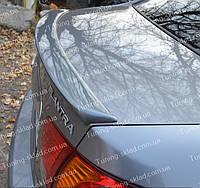 Спойлер Hyundai Elantra HD (спойлер на крышку багажника Хендай Элантра 4)
