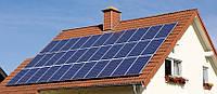 Однофазная сетевая солнечная электростанция 5кВт под ЗТ Think