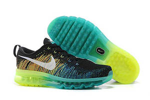 Кроссовки Nike Air Max Flyknit Turbo Green