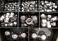 Колпачковая гайка М6 ГОСТ 11860-85, DIN 1587 из нержавеющих сталей А2 и А4, фото 1