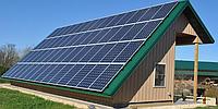 Трехфазная сетевая солнечная электростанция 10кВт под ЗТ Samil, фото 1