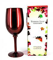 Подарочный набор винных аксессуаров - бокал красный
