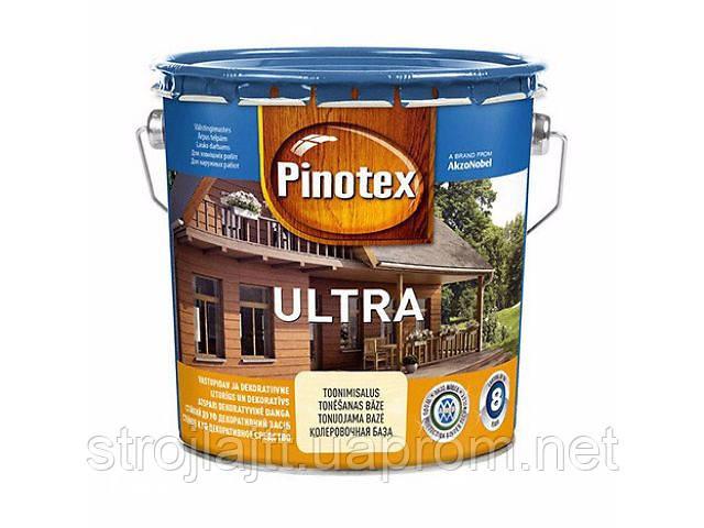 Средство для защиты древесины PINOTEX ULTRA Пинотекс Ультра ТИК 10л