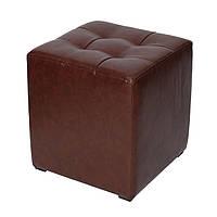 """Пуф """"Куб"""" коричневый"""