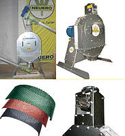 Молотковая зернодробилка RVO 752, производительность до 4,5 т/час