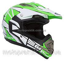 Шлем GEON 614 Кросс MX-Spirit Neon Green XXS