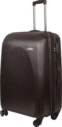 Вместительный чемодан на 4-х колесах 116/135 л Vip Collection Galaxy 28 Brown G.28.brown, коричневый