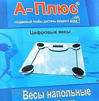 Весы для дома, напольные весы А-Плюс 1652, до 150 кг, стекло, точный вес, весы напольные бытовые электронные