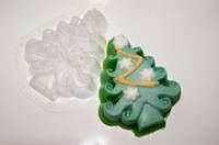 Форма пластиковая для мыла Елочка
