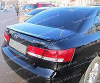 Спойлер Hyundai Sonata NF (спойлер на крышку багажника Хендай Соната 5 НФ)