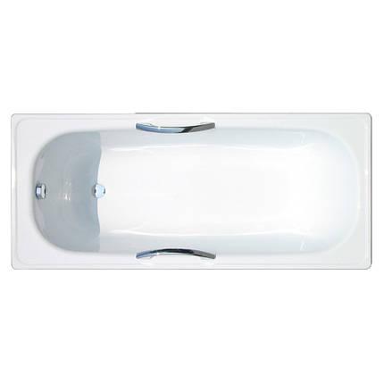 Ванна стальная Estap Iris 150x71 с ручками, фото 2