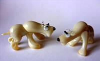 Стеклянная фигурка Медведь м-21
