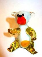 Стеклянная фигурка Медведь м-47
