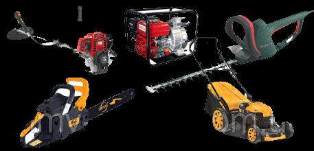 Современный бензиновый инструмент для сада и огорода
