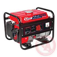 Генератор бензиновый мощн. макс. 1,2 кВт./ ном. 1 кВт.; 3,0 л.с.; 4-х тактный; ручной пуск INTERTOOL DT-1111