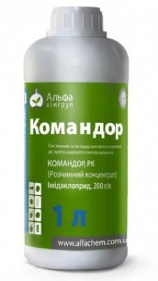 Інсектицид Командор (Ініциатор 200)  - імідаклоприд 200 г/л, картопля, яблуна та інші овочеві, фото 2