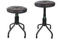 Круглий стілець для музикантів з регульованою висотою