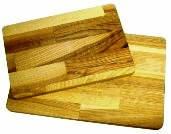 Доска разделочная деревянная 350х250х20