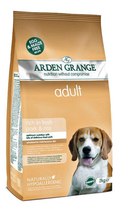 Корм для собак со свининой и рисом Arden Grange Adult Rich in Fresh Pork & Rice